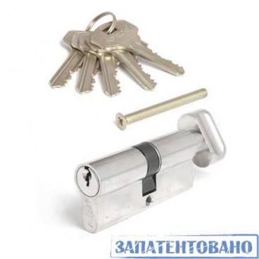 Цилиндр APECS SC-70 (30C/40)-Z-C-Ni никель англ.ключ/вертушка